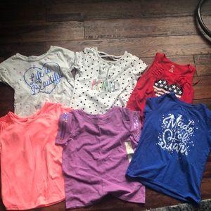 6 shirt lot